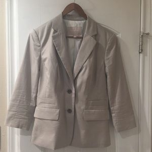 Banana Republic Suit Jacket in khaki